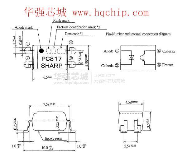 【pc817中文资料】_pc817pdf_pc817应用电路_pc817图