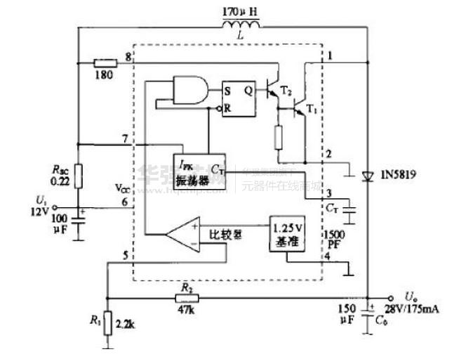 【mc34063中文资料】_mc34063pdf_mc34063应用电路_mc